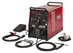 Picture of a Lincoln 355 TIG Welder